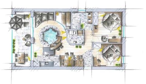 LA VIE DELUXE - Apartment SÜDTIROL,Whirlpool,Sauna
