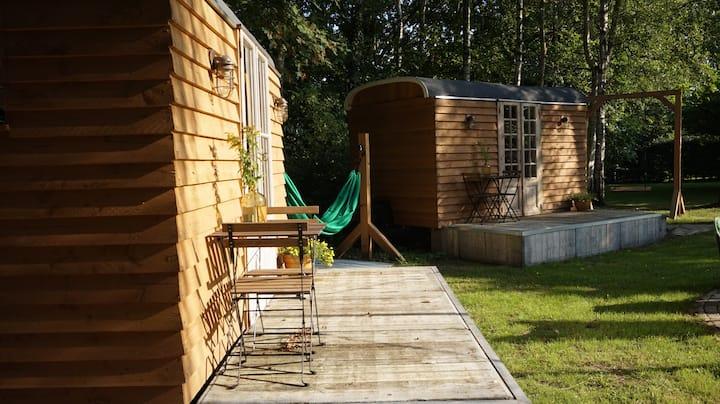 Tiny house in buitengebied Eindhoven nabij centrum