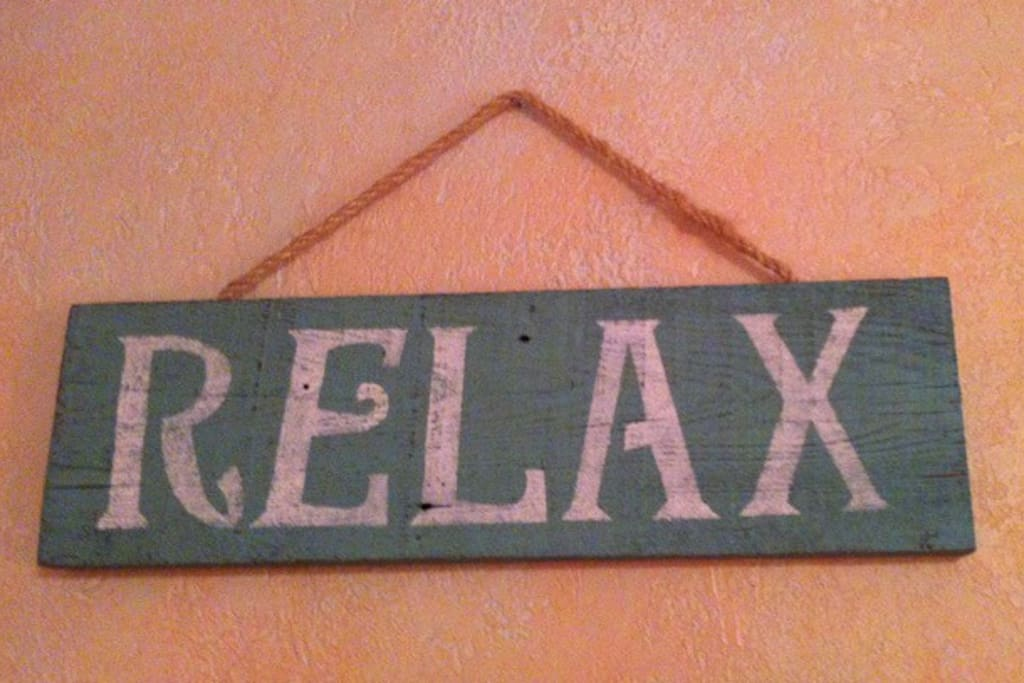 Relax, You Deserve it!