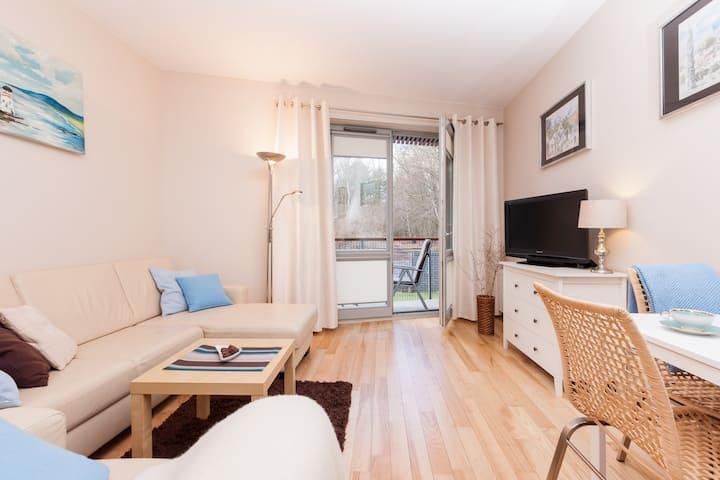 Beautiful apartment with balcony Bałtycka 11/10