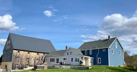 Sprawling Updated Farmhouse on large private lot