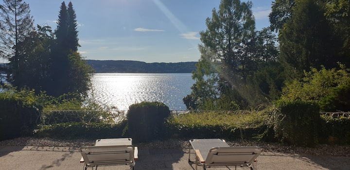 Working Space direkt am See, mit Pool und Sauna
