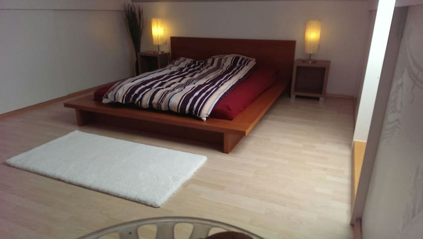 Cozy roof top double bed room - Baltmannsweiler