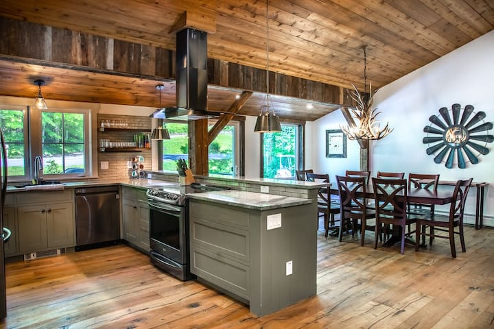 NEW! Stunning unit in restored post and beam barn!