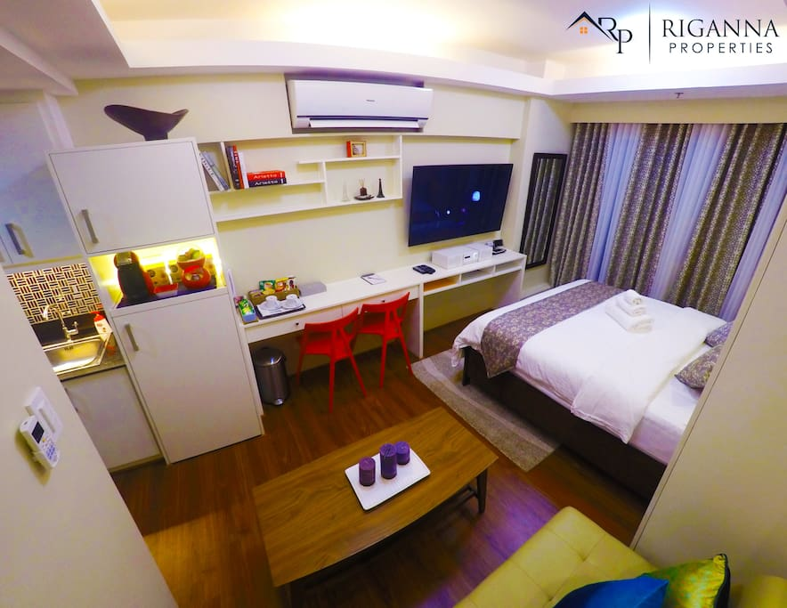 Meticulously designed to give you a luxurious, comfortable yet affordable place to stay.