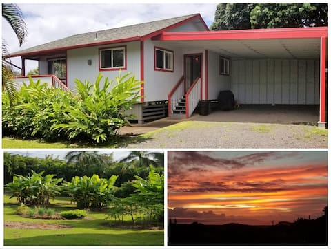 Private Country Cottage, Ocean View, A/C, Hana Hwy