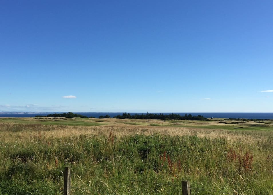 The beautiful Fife countryside is right on your doorstep