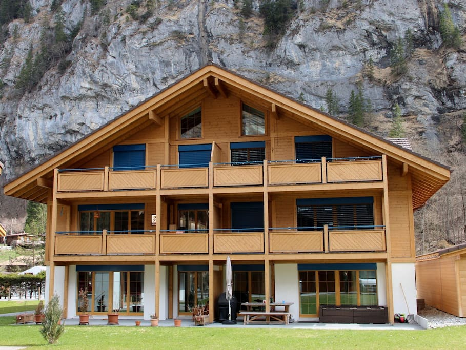 Outside view of the chalet