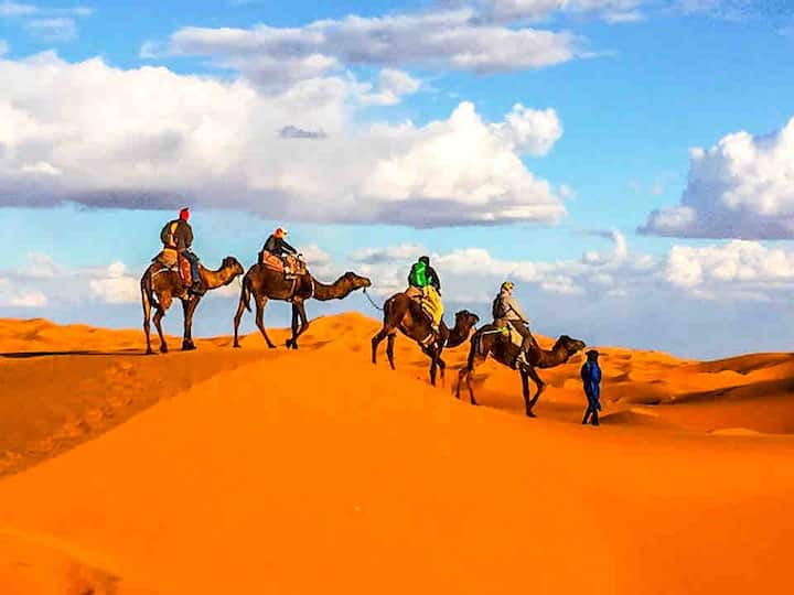 SINGLE/private bathroom/camel trek&meals included