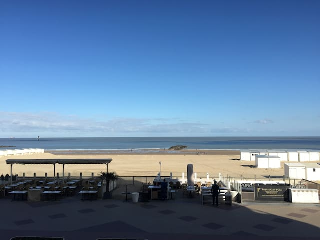Luxury flat with amazing seaview (incl. 2 carpark) - Knokke-Heist - Wohnung