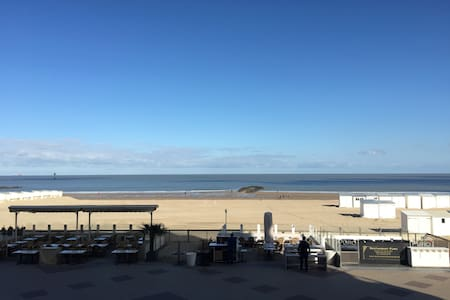 Luxury flat with amazing seaview (incl. 2 carpark) - Knokke-Heist - Daire