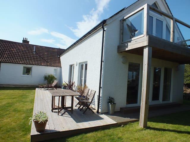 Large seaside family retreat, Fife