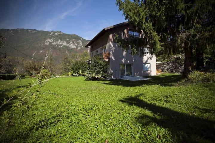 Family app in valley Soca, Bovec and Tolmin region