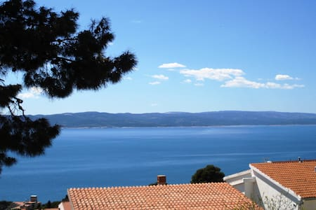 Perfect for 2 with a charming view - Brela - Διαμέρισμα