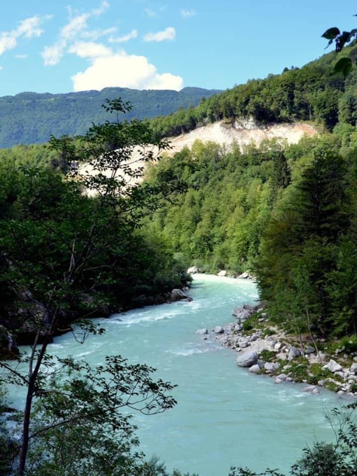 Comfortable app in Soča, Bovec and Tolmin region