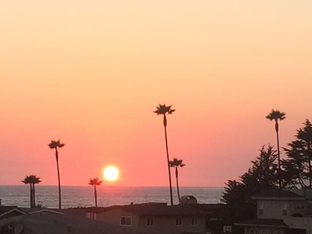 Pacific Sunsets by Highway One