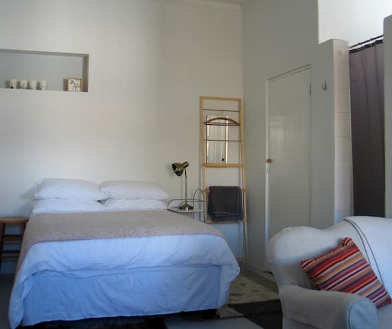 Comfortable double room with private bathroom.