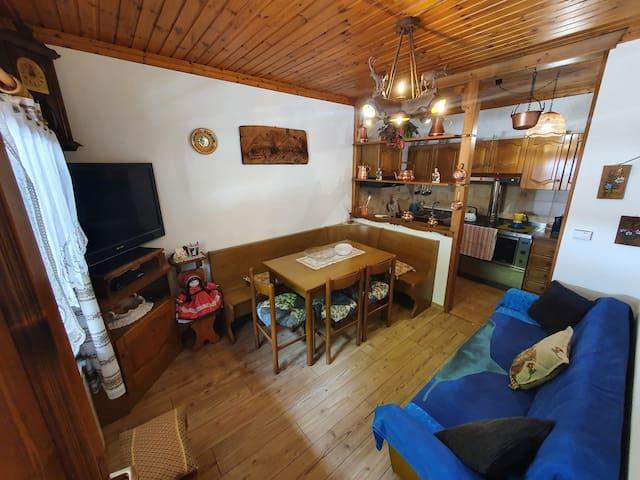 Spazioso appartamento nel cuore delle Dolomiti