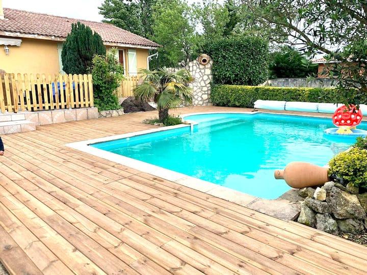 Villa avec piscine sur Bassin d'Arcachon