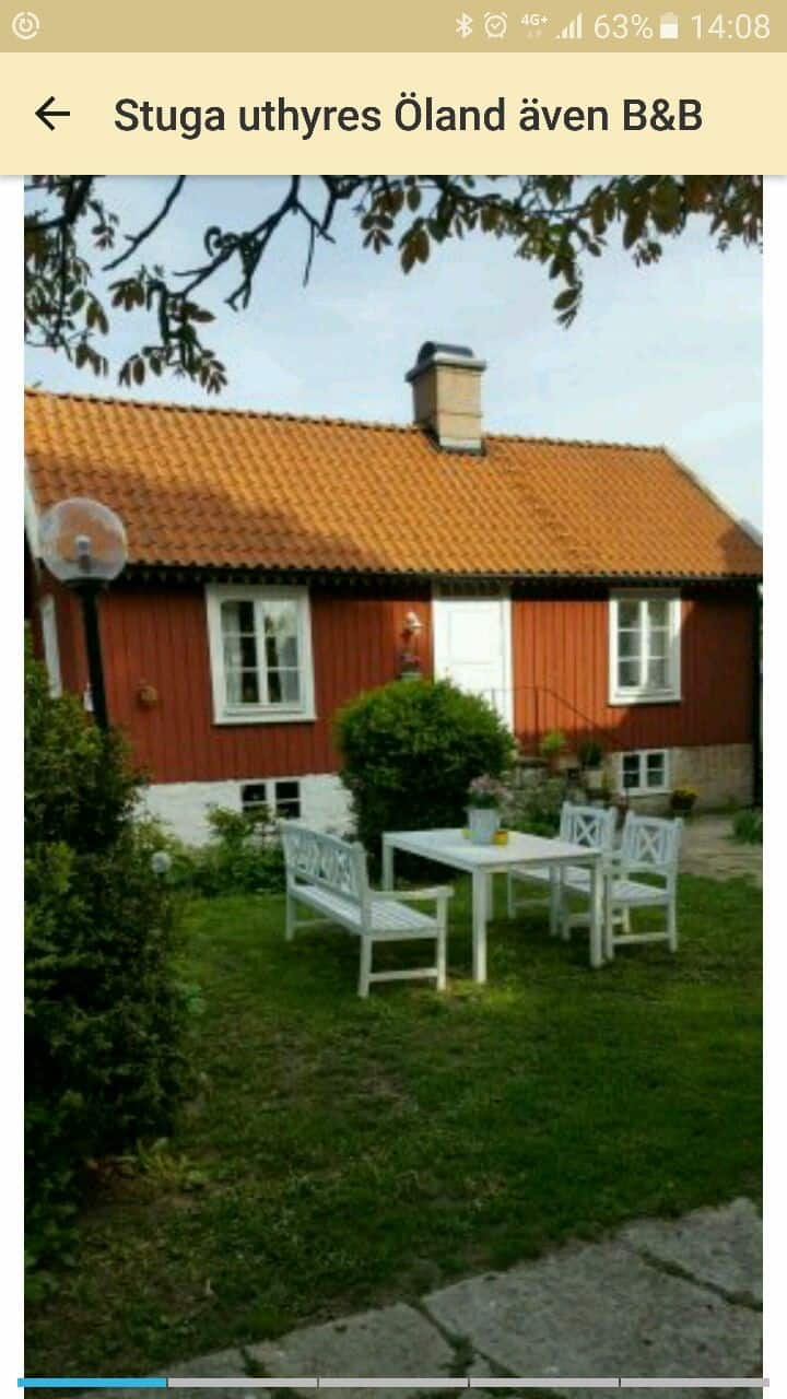 Charmigt fint hus mitt på Öland