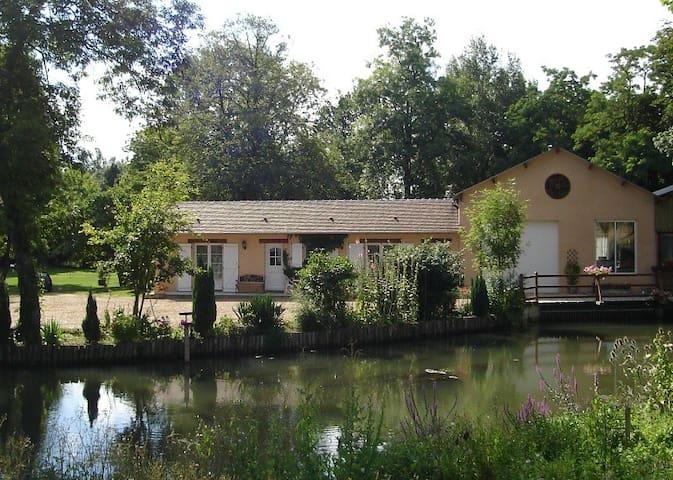 moulin de Pouligny - Château-Renard - Huis