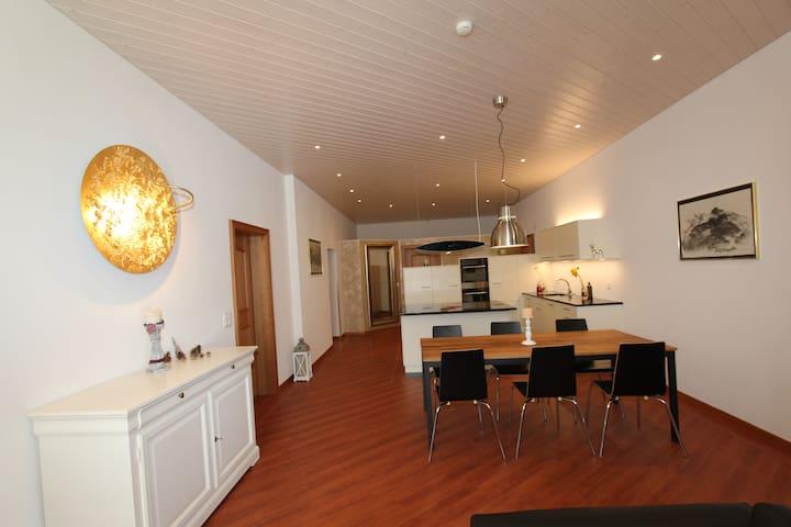 Toni's Alpine Loft - Kandersteg - Apartment