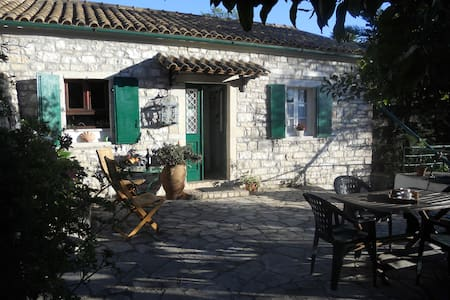 Stone Cottage Oriana, Loggos, Paxos - Paxos - Talo