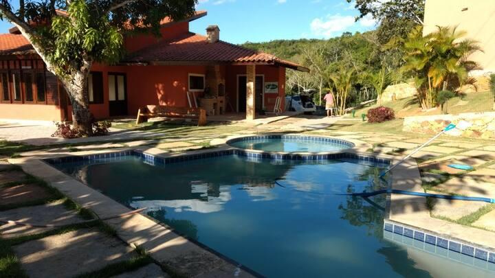 Apartamento próximo ao centro de Guaramiranga