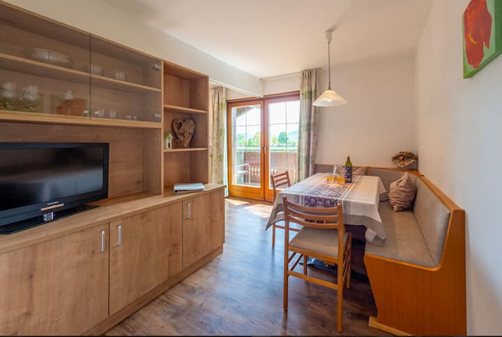 """Charming Apartment """"Birne"""" with Mountain View, Wi-Fi, Balcony & Garden; Parking Available"""