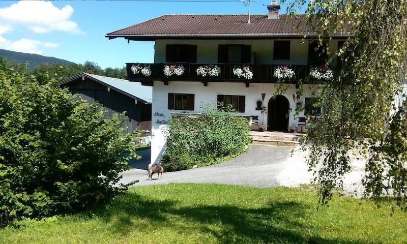 Am Fuße des Watzmanns FerienWhg 3 auf'n Bauernhof - Ramsau bei Berchtesgaden - Lägenhet