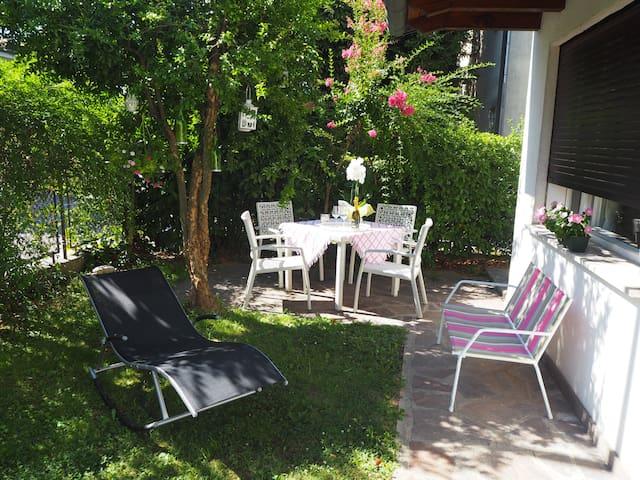 """""""Le Gardenie di Tito"""", near Venice."""