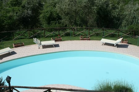 2 Bedrooms apartment with patio - Torgiano
