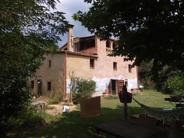 Casa de pagés a dos km del poble