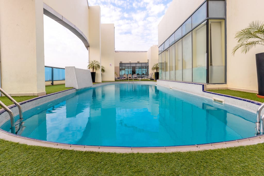 Roof Top view Swimming pool