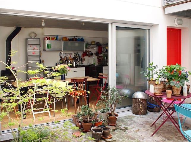 Charmante chambre sur cour