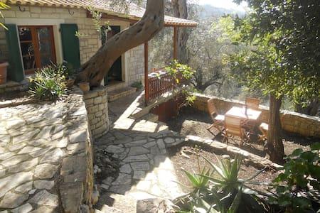Nikolas Stone House , Loggos, Paxos