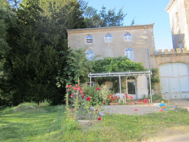 Gîte au Château de Lemps,Ardèche. - Lemps - บ้าน