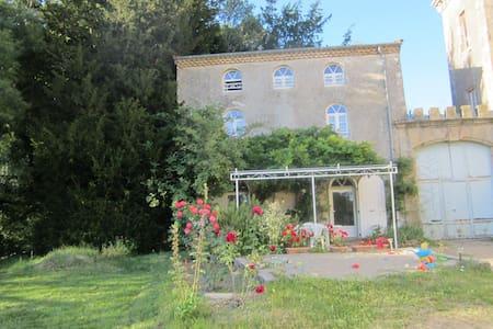 Gîte au Château de Lemps,Ardèche. - Lemps