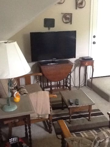 Cute and Cozy Garage Apt. W/ View - Fort Worth - Leilighet