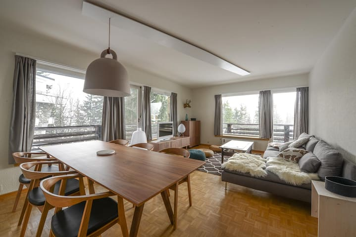 bel appartement contemporain - Montana - Byt