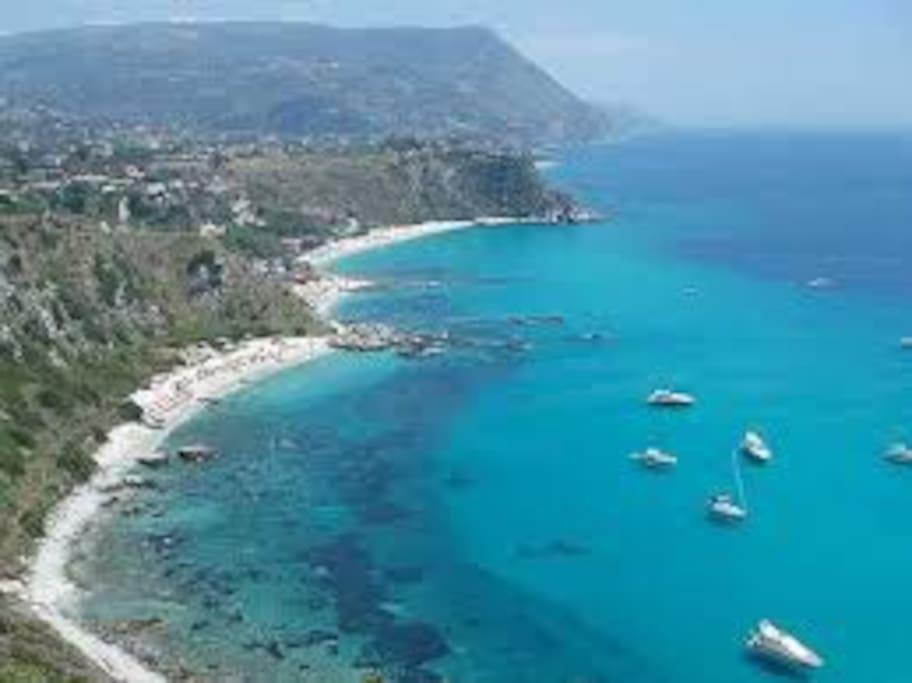 La costa Jonica e le sue acque cristalline
