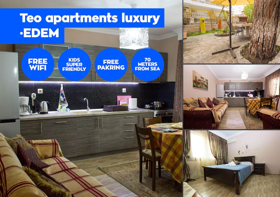 Our home has all the comforts to let you enjoy your holidays in our beautiful city