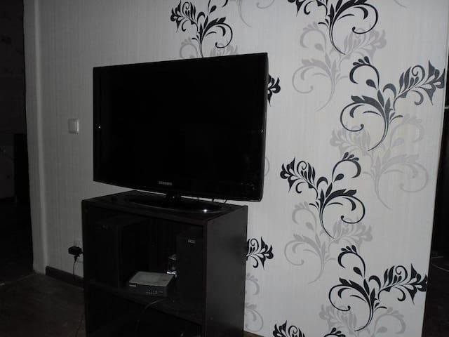 m.Vokzalnaya, train station, Wi-Fi - Kiev - Apartment
