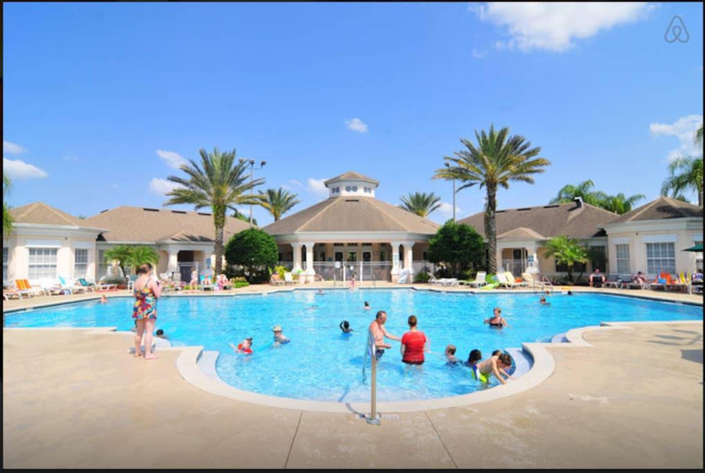 3 Bedroom Resort Style Condo 3 Miles To Disney Houses For Rent In Kissimmee Florida United