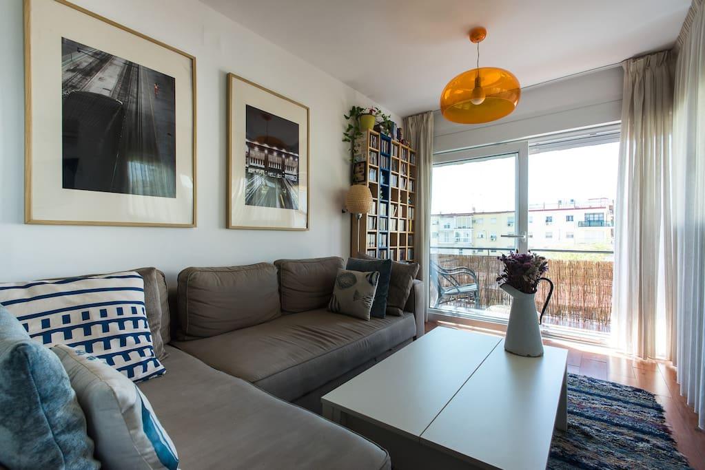 Airy and bright living room - Espacioso y luminoso salón