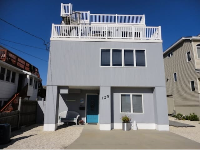 Sea Dream, One house from beach-Ship Bottom, LBI - Ship Bottom - Huis