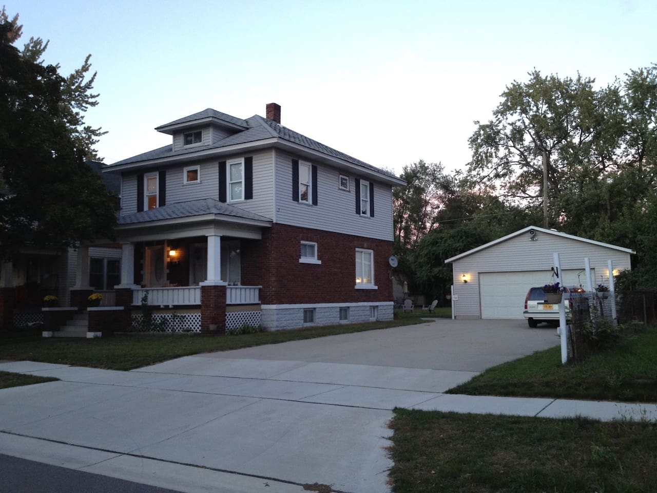 Fully renovated Colonial Home in the Heart of Port Huron Double lot with concrete drive