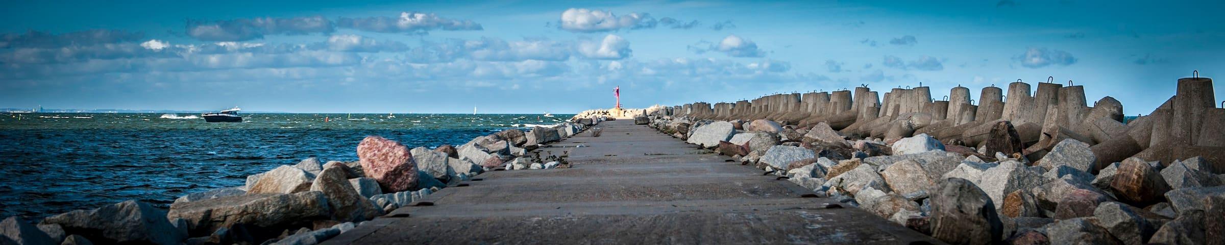 rezerwat85 - pokoje na wyspie - Gdańsk - Huis