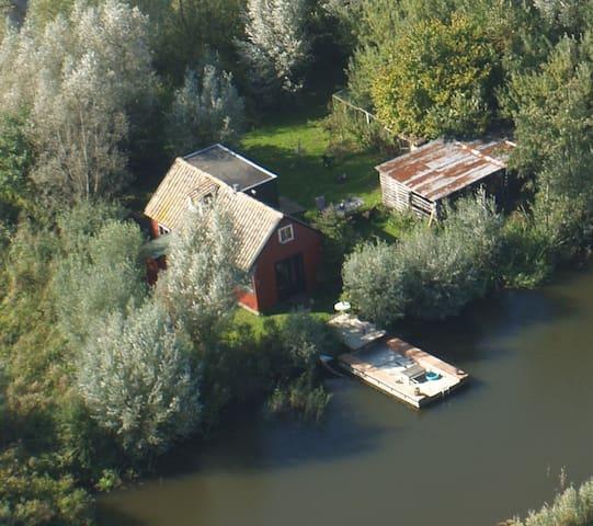 House on an island - Kockengen - House