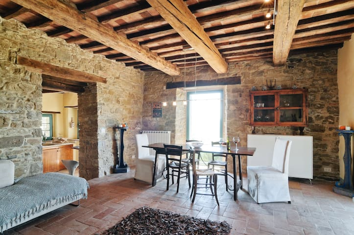 Wonderful Tuscan villa for friends & family - - Arezzo - Hus